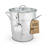 Country Home: Galvanized Ice Bucket by Twine