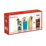 Spiegelau Lead-Free Crystal 12-ounce Long Drink Glasses (Set of 4)