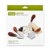 Grove Gourmet Cheese Tool Set by True (Set of 4)