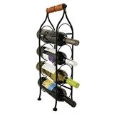Boulevard: Metal Rack Climbing Tendril Wine Bottle Holder