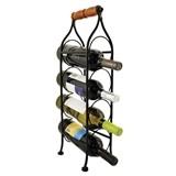 Boulevard: Metal Rack Climbing Tendril Wine Bottle Holder