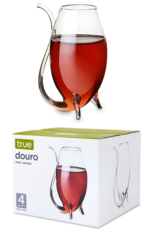 Douro 3oz Glass Port Sippers by True (Set of 4)