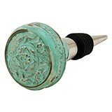 Country Cottage Replica Antique Doorknob Bottle Stopper by Twine