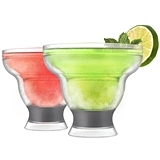 FREEZE Collection Margarita Cooling Cups in Grey by HOST (Set of 2)