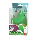 Dinopour™ Triceratops Pourer in Green by TrueZOO