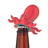 Unleash the Krak 'Em™ Bottle Opener in Red by TrueZOO