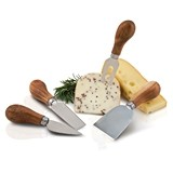 Rustic Farmhouse: Gourmet Cheese Knives by Twine (Set of 4)