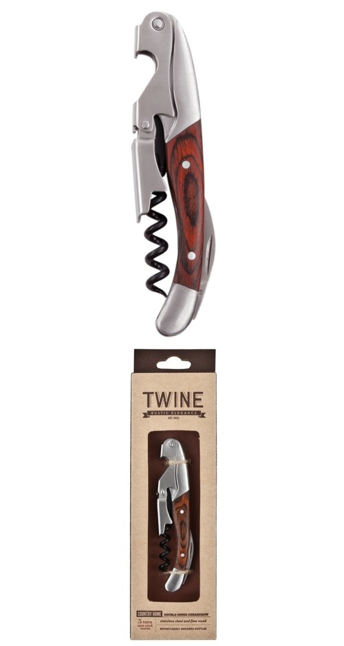 Country Home: Double Hinged Corkscrew by Twine
