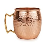 Old Kentucky Home Hammered Copper Moscow Mule Mug by Twine