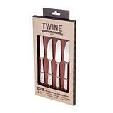 Chateau™ Vintage Cheese Knife Markers/Spreaders by Twine (Set of 4)