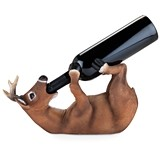"""More Wine Deer?"" Drunken Deer Bottle Holder by Foster & Rye"