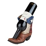 """Lone Star"" Texas Flag Boot Bottle Holder by Foster & Rye"