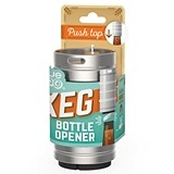Miniature Keg Push Top Bottle Opener by TrueZOO