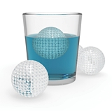 Golf-Ball-Shaped Silicone Ice Cube Mold by TrueZOO