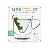 Mar-tea-ni™ Double Wall Glass by TrueZOO