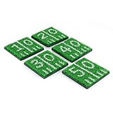 Home Turf™ Real Astro-Turf with Football Hashmarks Coasters (Set of 4)