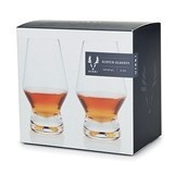 Raye Lead-Free Crystal Scotch Glasses by Viski (Set of 2)