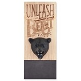 Tame The Beast Bear-Head Magnetic Bottle Opener by Foster & Rye