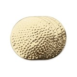 Belmont Hammered Brass Coasters by VISKI (Set of 4)