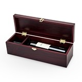 Latch™ Cherry-Finish Wine Bottle Gift Box by True