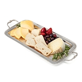 Chateau™ Antique-Inspired Pewter Serving Tray by Twine