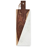 Admiral™ Marble and Acacia-Wood Cheese Board by VISKI