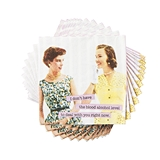 Retro Design Sarcastic Ladies Napkins by Cakewalk (Package of 20)