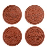 National Parks Faux-Leather Coaster Set by Foster & Rye (Set of 4)