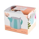 Harper™ Blue Ceramic Teapot & Infuser by Pinky Up