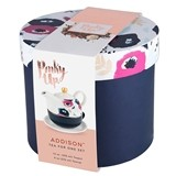 Addison™ Floral Motif Tea-for-One Set by Pinky Up