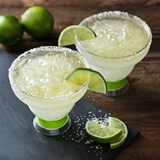 FREEZE Collection Margarita Cooling Cups in Green by HOST (Set of 2)