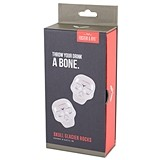 Stainless Steel Skull-Shaped Glacier Rocks by Foster & Rye (Set of 2)