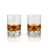Raye Gem Lead-Free Crystal Tumblers by VISKI (Set of 2)