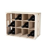 Wooden Crate 12-Bottle Wine Rack by True