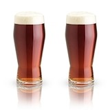 Raye: Lead-Free Crystal Pub Glasses by VISKI (Set of 2)