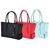 Insulated Wine Purse/Tote by Blush (3 Colors: Aqua, Black or Papaya)