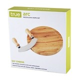 Arc Mezzaluna Knife and Cutting Board Set by True