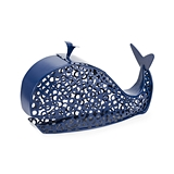 Spritz Blue Whale Metal Cork Holder by True