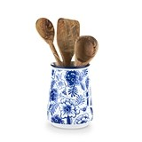 Pantry: Indigo Floral Utensil Holder by Twine®