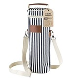Seaside Collection Insulated 1-Bottle Carrier with Corkscrew by Twine