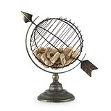 Chateau Collection Old World Globe Cork Display by Twine