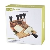 Brace Magnetic Cheese Board and Tool Set by True