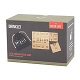 """Drinkle"" Beer Drinking Board Game by Foster & Rye"