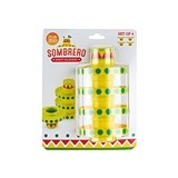 Stackable Sombrero Shot Glasses by TrueZOO (Set of 4)