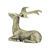 Rustic Holiday Collection Gilded Deer Bottle Opener by Twine