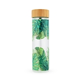 Blair Tropical Glass Travel Infuser Mug by Pinky Up