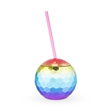 Rainbow Disco Ball Tumbler by Blush