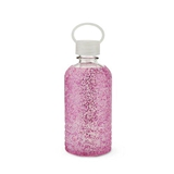 Glimmer: Pink Glitter Silicone Sleeve Water Bottle by Blush