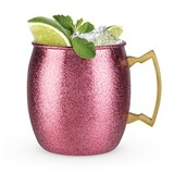 Comet: Pink Glitter Moscow Mule Mug by Blush