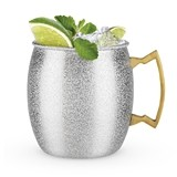 Comet: Silver Glitter Moscow Mule Mug by Blush
